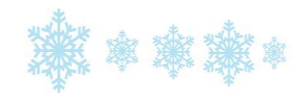 Задание со снежинками
