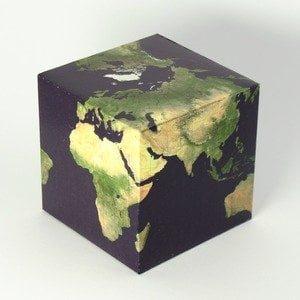 Кубическая карта мира