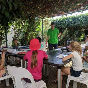 Занятия с детьми на свежем воздухе