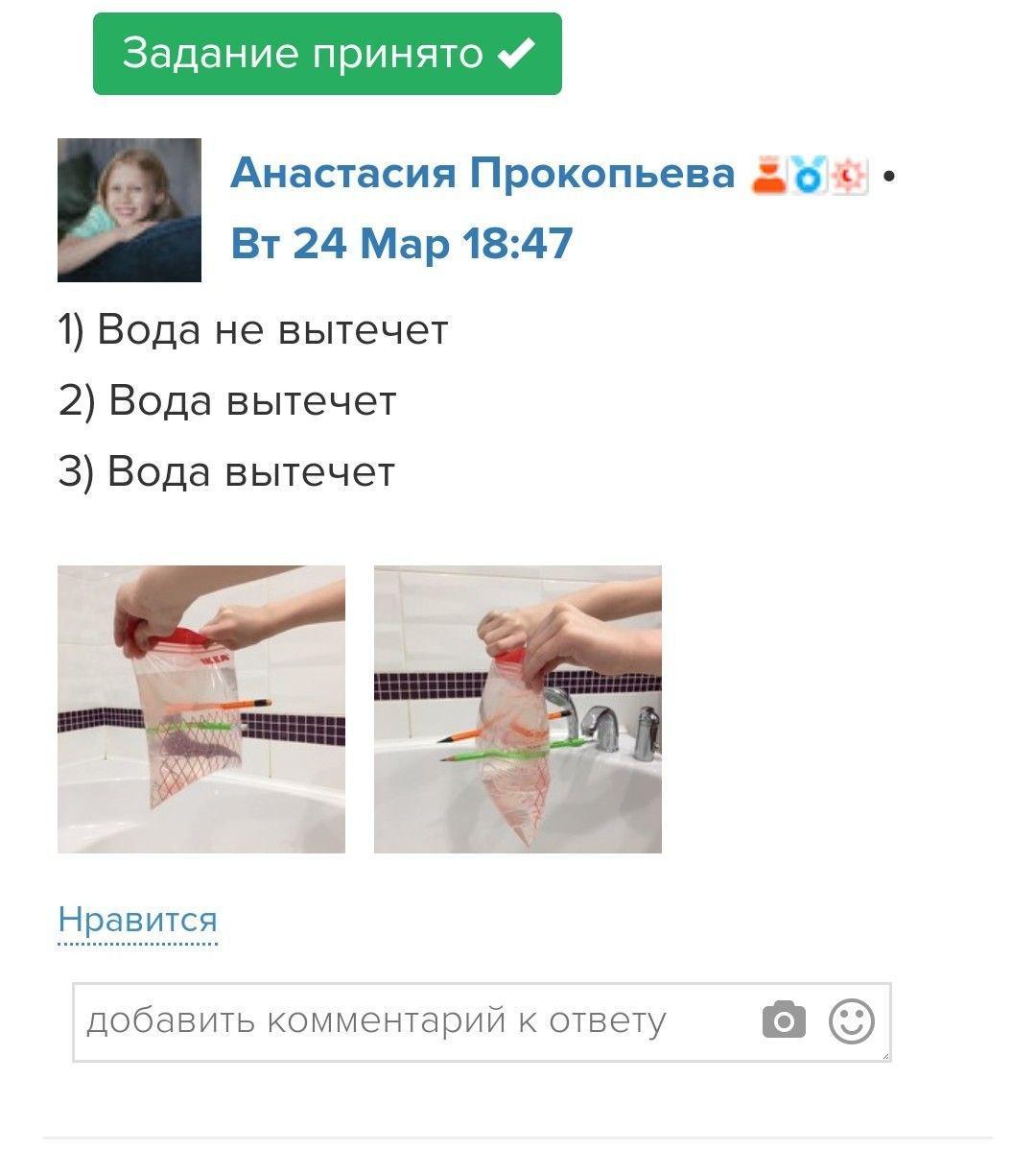 Пример задания на онлайн-курсе Систематики